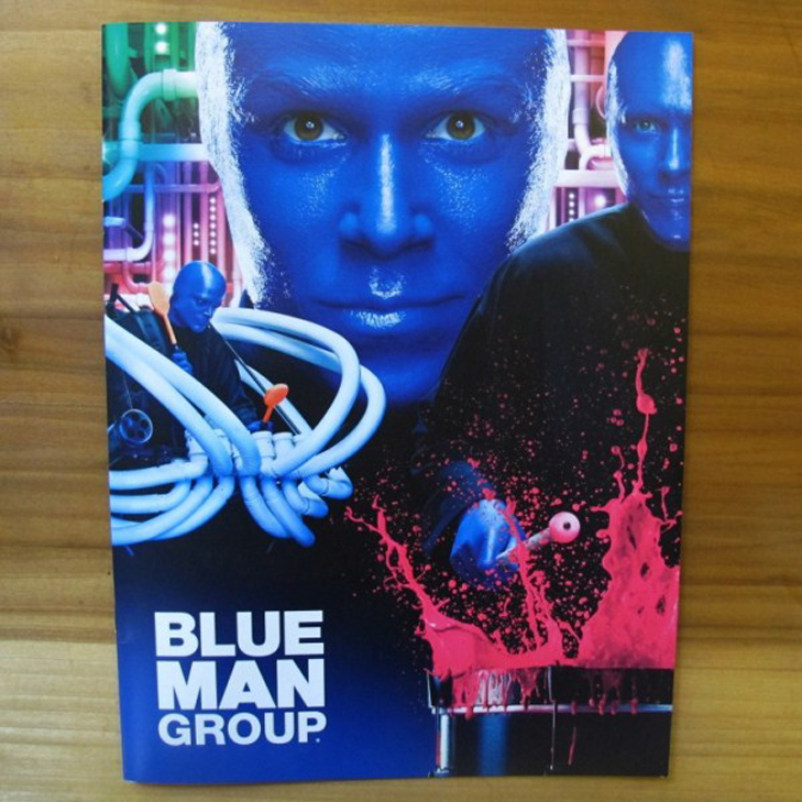 Blue Man Group Brochure