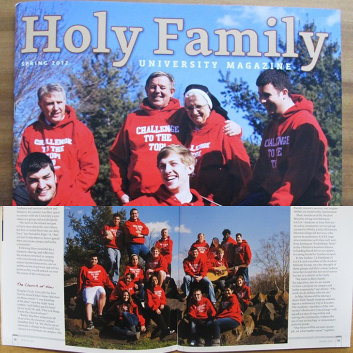 Holy Family University Booklet