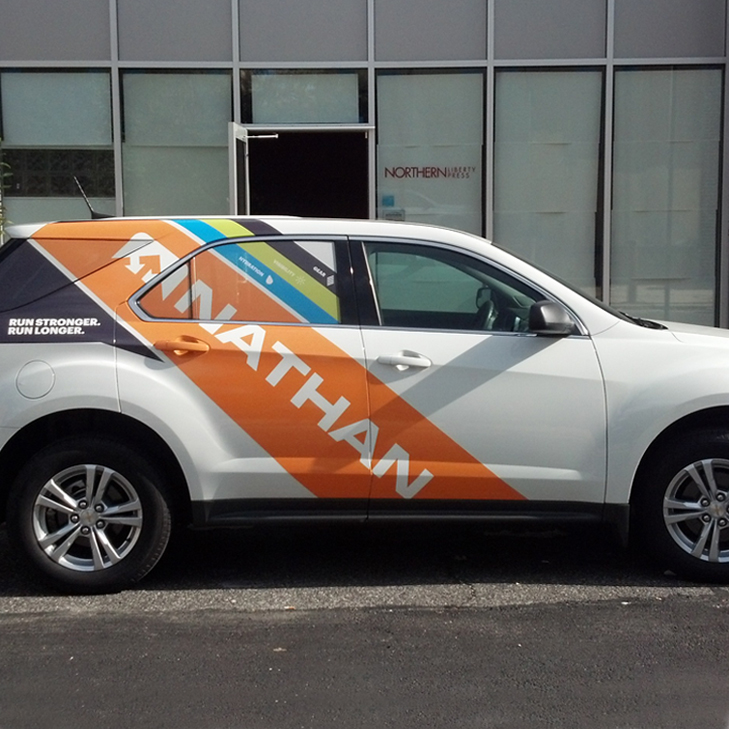 Nathan Partial Vehicle Wrap