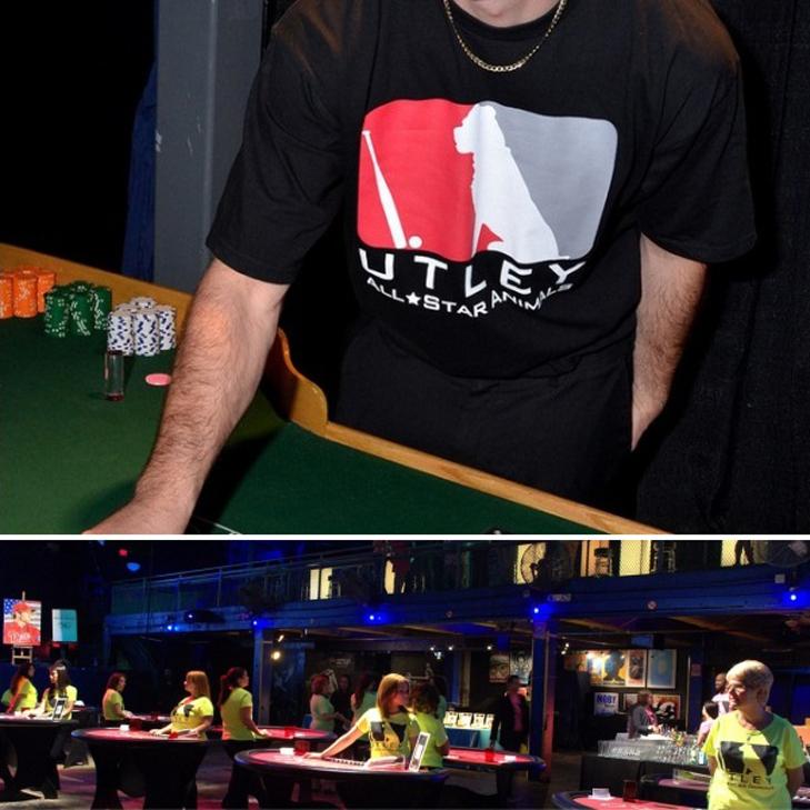 Utley All-Star Animals Casino Night Staff T-Shirts