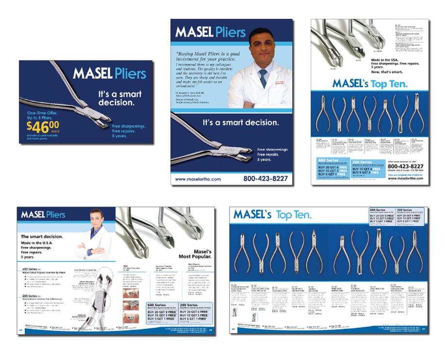 Masel Plier Branding Campaign