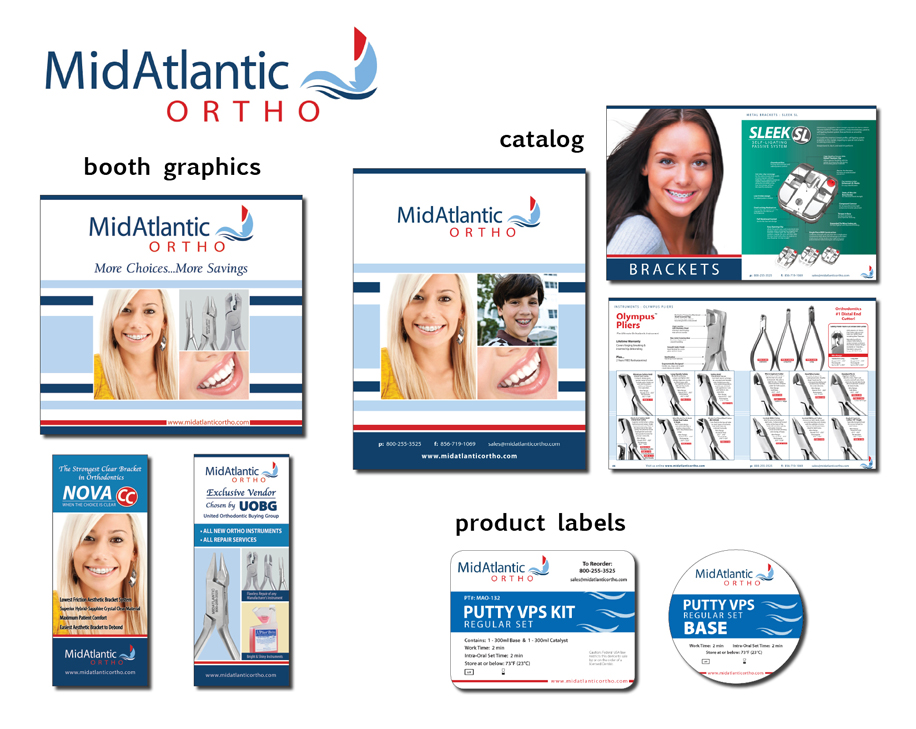 Midatlantic Ortho Identity Campaign