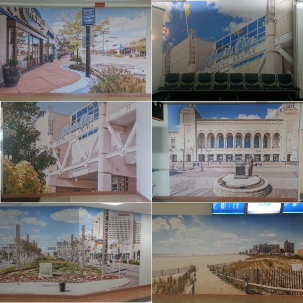 Atlantic City Airport Wall Graphics